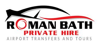 Roman Bath Bath airport taxi logo